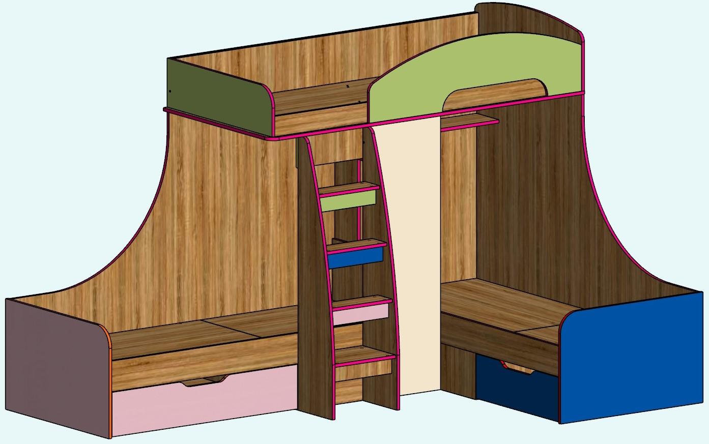 Детская мебель, матрасы, прихожие